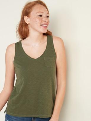 Old Navy EveryWear Slub-Knit V-Neck Tank Top for Women