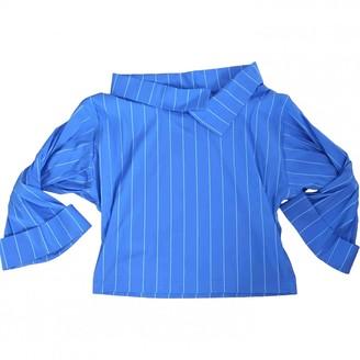 Cavallini Erika Blue Cotton Top for Women