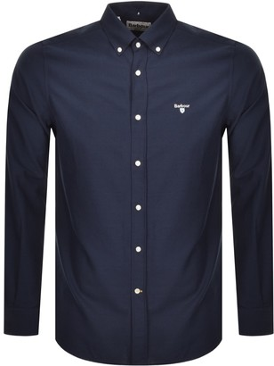 Barbour Oxford Long Sleeve Shirt Navy