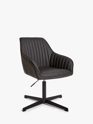John Lewis & Partners Brooks Office Chair, Charcoal