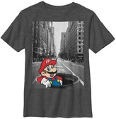 Nintendo Boys' T-Shirt - Charcoal Heather