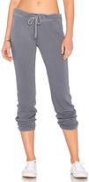 James Perse Genie Sweatpant in Gray. - size 0 (XXS/XS) (also in 1 (XS/S),2 (S/M),3 (M/L))