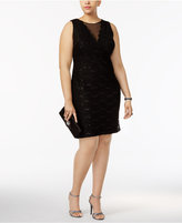 Night Way Nightway Plus Size Embellished Sheath Dress