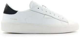 D.A.T.E Ace Mono White Sneaker
