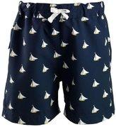 Rachel Riley Sailboat Swim Trunks (Toddler/Kid) - Navy-4 Years