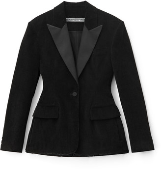 Collection Padded Tuxedo Blazer