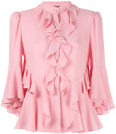 Alexander McQueen ruffled blouse - women - Silk - 38