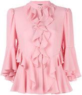 Alexander McQueen ruffled blouse - women - Silk - 40