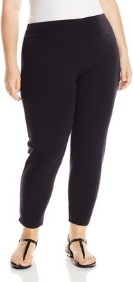 Joan Vass Women's Plus-Size Cropped Legging