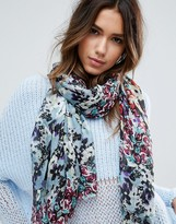 Alice Hannah Flower Mash Up Scarf