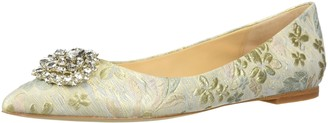 Badgley Mischka Women's Davis Pointed Toe Flat