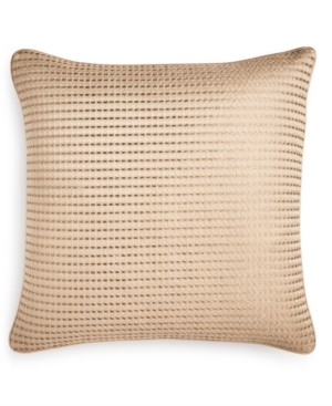 "Hotel Collection Deco Embroidery 16"" x 16"" Decorative Pillow, Created for Macy's Bedding"