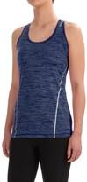 Reebok Moving T-Back Singlet Shirt - Sleeveless (For Women)