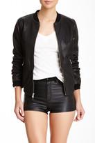 Andrew Marc Mesh Genuine Leather Jacket