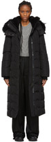 Mackage SSENSE Exclusive Black Down Jada Coat