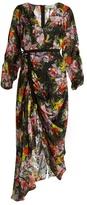 Preen by Thornton Bregazzi Cora floral-print silk-devoré dress
