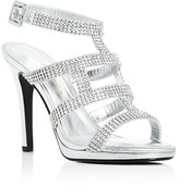 Caparros Elyzabeth Metallic Embellished Strappy Sandals