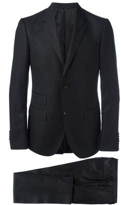 Gucci micro dots patterned suit