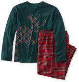 L.L. Bean Kids' Bean's Flannel PJs, Tee and Pants Set