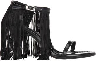 MM6 MAISON MARGIELA Fringed Trim Sandals
