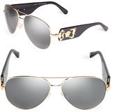 Versace 62mm Aviator Sunglasses - VE2150Q