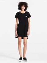 Calvin Klein Cotton Modal Pocket T-Shirt Dress
