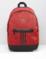 Adidas Originals Backpack In Red Ay7839