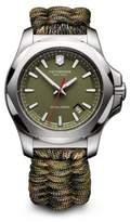 Victorinox I.N.O.X. Green Paracord Strap Watch