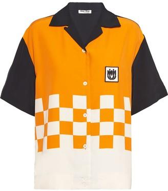 Miu Miu Ponge shirt
