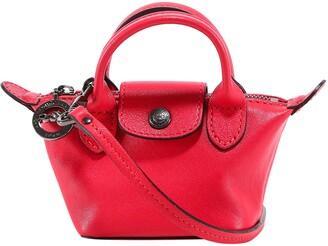 Longchamp Le Pliage Cuir Extra Small Crossbody Bag