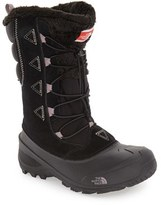 The North Face Girl's 'Shellista Lace Ii' Waterproof Boot