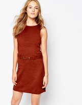 Vila Suedette A-Line Dress With Belt