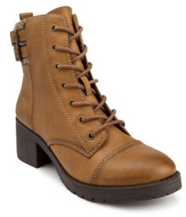 Sugar Women's Kailey Combat Booties Women's Shoes