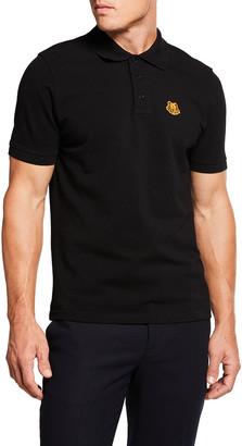 Kenzo Men's Tiger Crest Polo Shirt