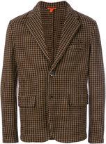 Barena houndstooth pattern blazer