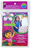 Neat Solutions Dora the Explorer Potty Topper Disposable Stick-in-Place Toilet Seat Covers, 10-Count by