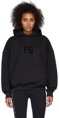 Fear Of God Black Sixth Collection FG Everyday Hoodie