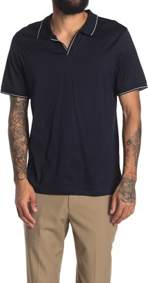 Reiss Tom Short Sleeve Open Collar Polo