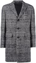 Tagliatore Prince of Wales check coat