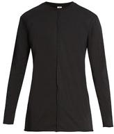 Damir Doma Teller Long-sleeved Cotton-jersey T-shirt