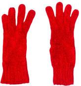 Alaia Knit Silk Gloves