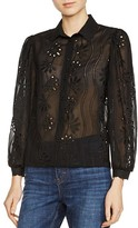 Maje Calek Lace Shirt