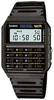Casio CA-53W-1ER Unisex Calculator Resin Strap Watch, Black