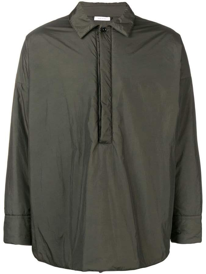 Jil Sander oversized shirt jacket