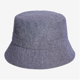 Joe Fresh Kid Boys' Chambray Bucket Hat, Blue (Size L/XL)