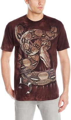 The Mountain Boa Constrictor Squeeze Adult T-Shirt