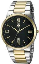 Jivago Men's JV3513 Clarity Analog Display Quartz Two Tone Watch