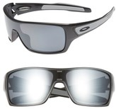 Oakley Men's Turbine Rotor 63Mm Polarized Sunglasses - Grey
