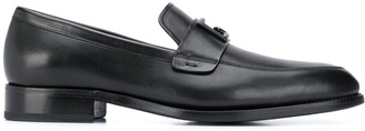 Givenchy Logo Plaque Loafers
