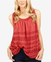 Lucky Brand Eyelet Top